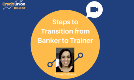 Steps to Transition From Banker to Trainer